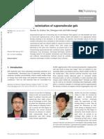Characterization of Supramolecular Gels