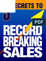 5 Secrets to Record Breaking Sales (1)