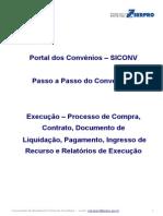 SICONV-Passo a Passo - Execucao Do Convenio