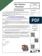 November 14 Newsletter
