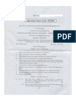 CS 2254 Operating System Question Paper