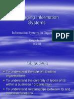 Lecture 2 ISinOrganisationsPart1