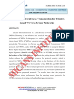 Secure and Efficient Data Transmission for Cluster Based Wireless Sensor Networks - IEEE Project 2014-2015