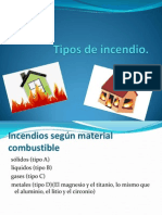 Tipos de Incendio
