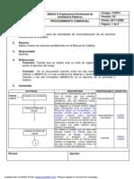 COP01 Procedimiento Comercial
