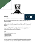 frankenstein webquest