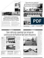 Diario El mexiquense 7 Noviembre 2014