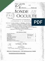 Le Monde Occulte