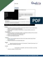 Job Description - Employee Communication 1 B