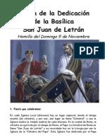 Dedicación de San Juan de Letrán