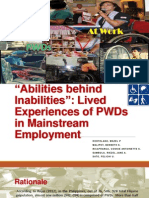 Abilities Behind Inabilities