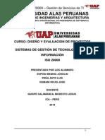 Imprimir ISO 20000