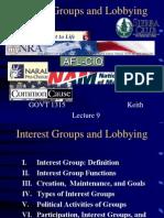 American Politics - Interest Groups -