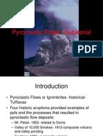 Pyroclastic Flows- Subaerial