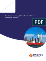 Construction Vessel Guideline for the Offshore Renewables Industry (Published)