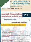 Juventud, Educación Superior y Movimiento Indígena en el Perú