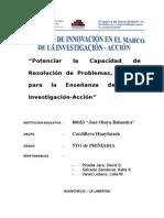 Potenciarlacapacidadderesolucindeproblemasunretoparalaenseanzadesdelainvestigacinaccin Copia 110321155312 Phpapp01