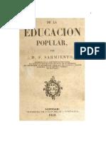 De La Educacion Popular