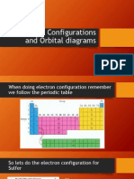 electron configurations and orbital diagrams