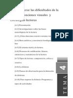 Tema4como Superar Las Dificultades de La Lectura Funciones Visuales y Estrategias Lectoras
