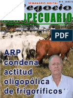 NEGOCIO AGROPECUARIO - N 6 - 04 03 13 - PARAGUAY - PORTALGUARANI