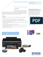 Epson Stylus Photo P50 Brochures 1
