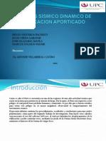 ANÁLISIS SÍSMICO DINAMICO DE EDIFICACION APORTICADO|
