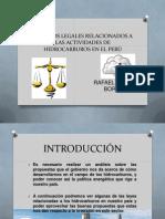 Aspectos Legales Relacionados a Las Actividades de Hidrocarburos
