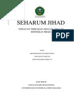 SEHARUM JIHAD (Tinjauan Terhadap Amalan Setingkat Jihad)