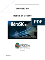 HidroSIG User Guide Spanish Mayo 11 2011