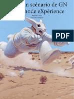 scénario de GN-méthode eXpérience