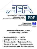 AGR NaCN Solids Training Spanish