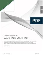 LG WM2650H Owner's Manual (English/Español)