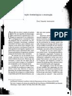 VENDRAMINI, Jose Educardo - Sobre Criação Dramaturgica e Encenação