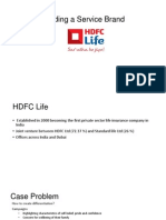 HDFC Life Insurance Case Ppt