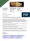 Kendrick Johnson - Open Letter Public Officials - 20141030