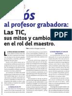 Adios Al Profesor Grabadora