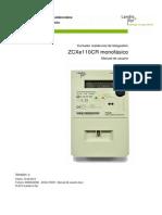 LANDIS GYR ZCXe110-Manual de Uso