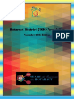 District Newsletter November 2014 (English)