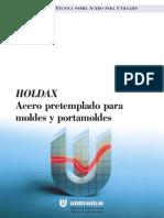 Materiales Para Moldes de Plástico (HOLDAX)