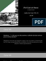 Frei Luís de Sousa Cena Viii e Ix Ato III