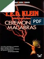 Ceremonias Macabras de T. E. D. Klein r1.1