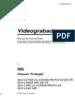 Manual de Operación SLVLX40_es