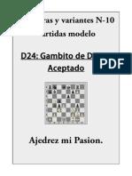 10- D24 Gambito de Dama