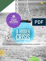 "Center for Youth Wellness' ""Hidden Crisis"