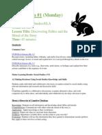 edu371 fables-morals lesson plan 2