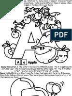 A- Z Colouring Book