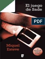 El Juego de Sade - Miquel Esteve (1)
