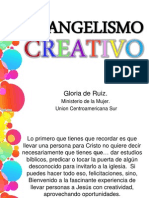 Evangelismo Creativo-sra. Ruiz