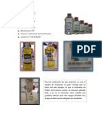 Indice de Acidez- i Informe II Unidad